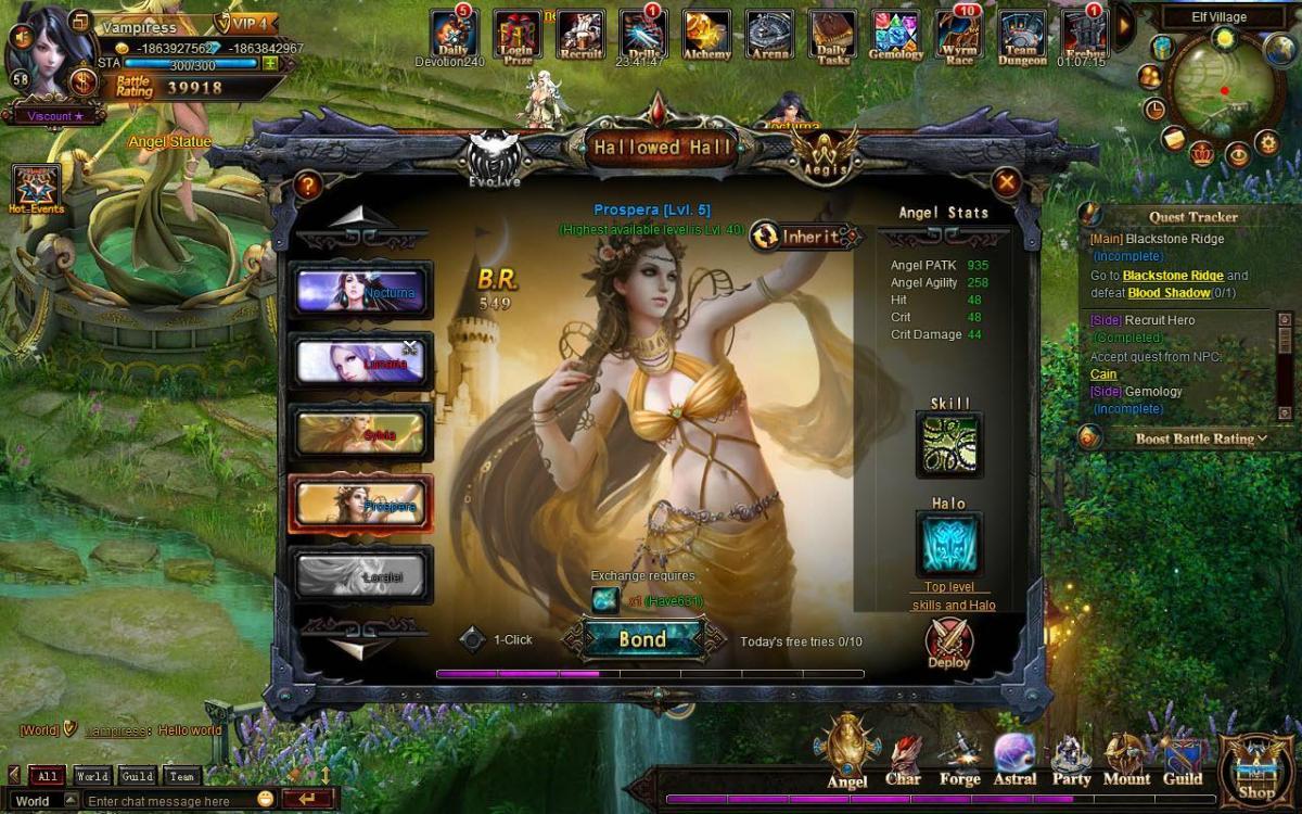 Сайт игры лига ангелов